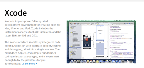 cross platform mobile development (xcode)