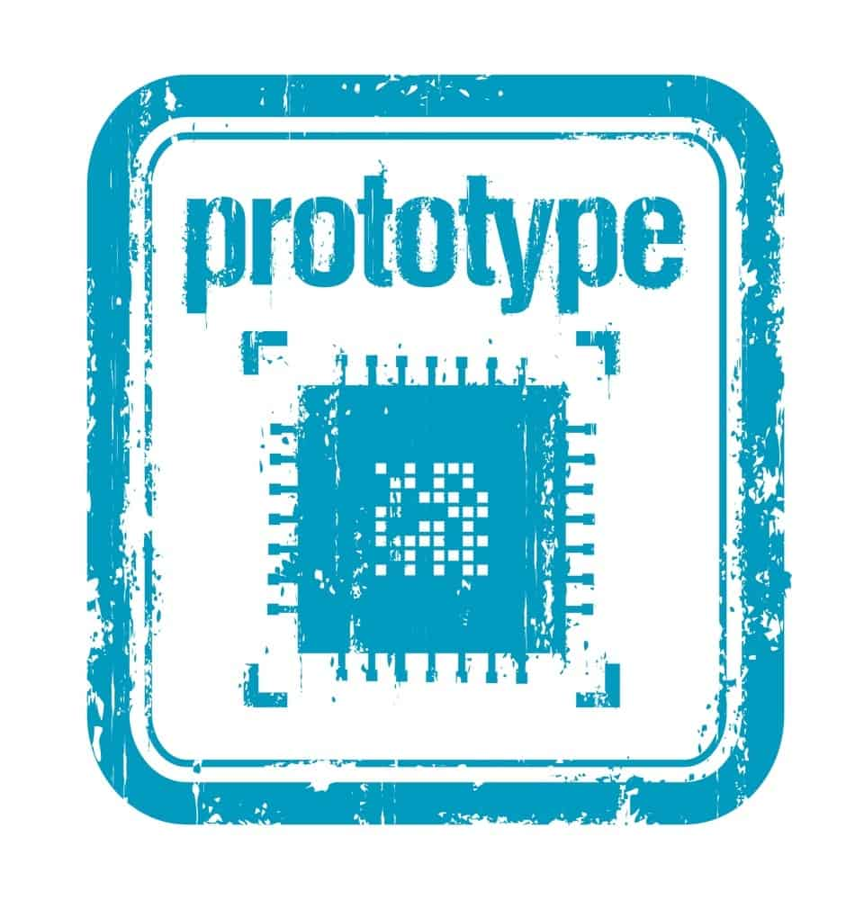 prototype rubber stamp