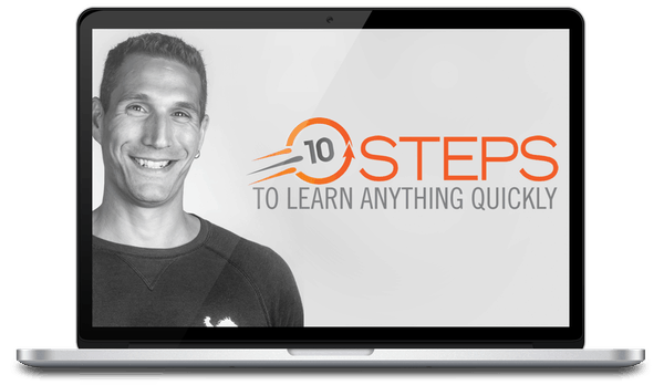 John Sonmez – 10 Steps To Learn Anything