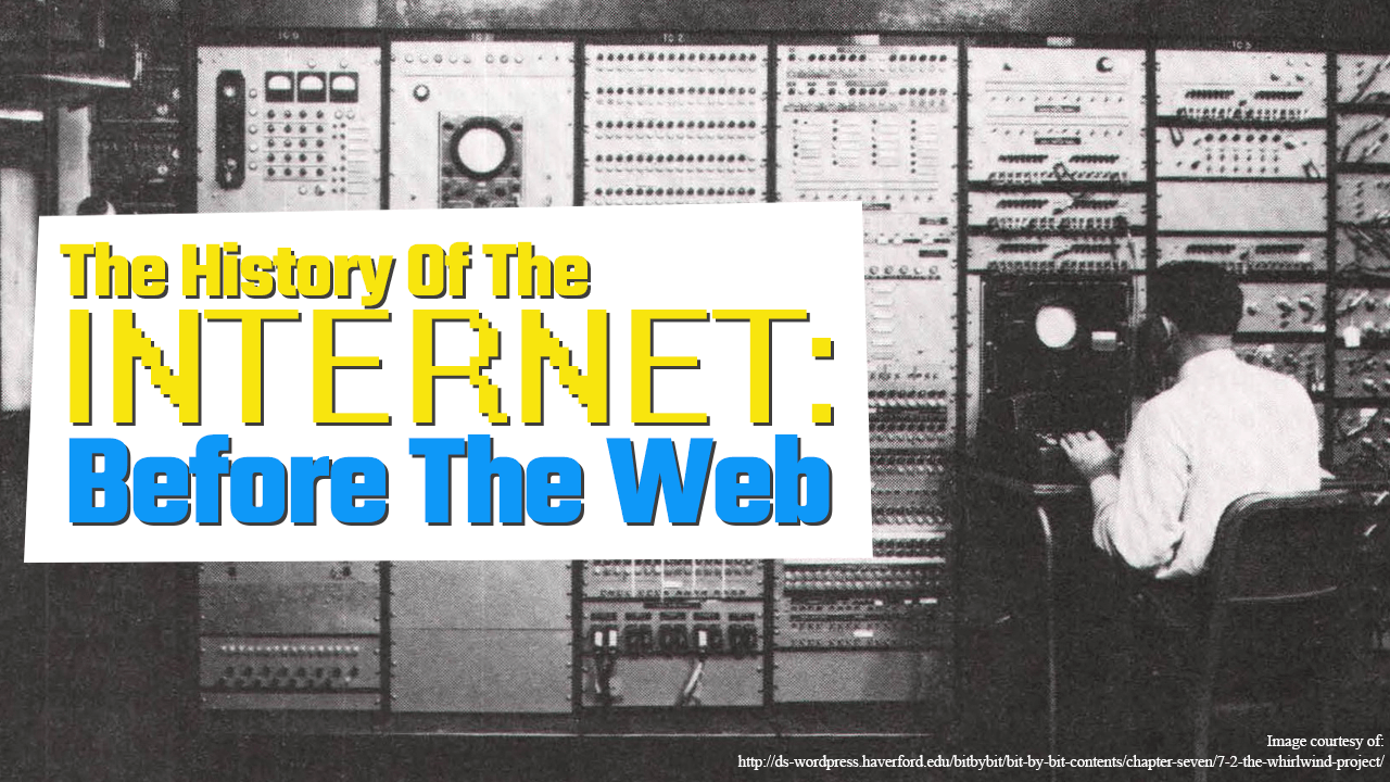 The History of the Internet Part One: Before the Web