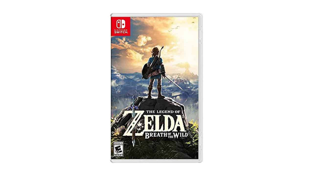 Image of Zelda Breath Of The Wild