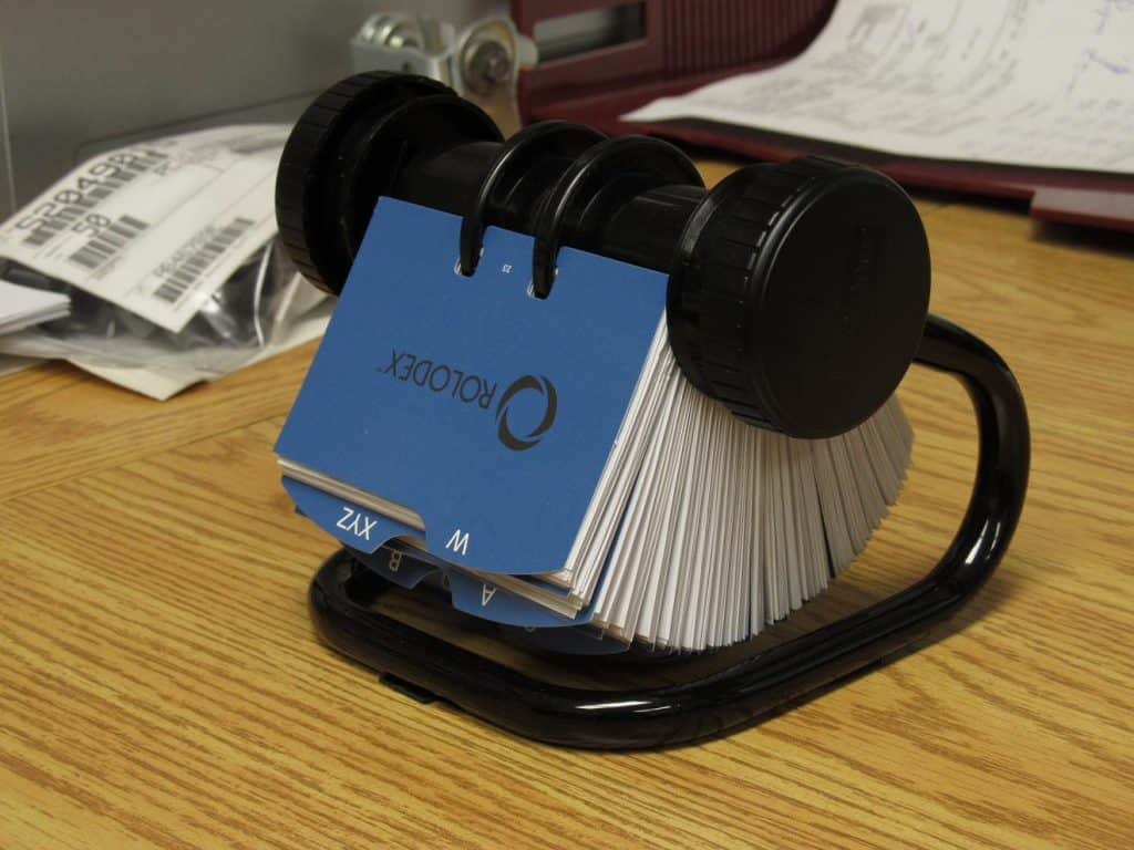 The Rolodex