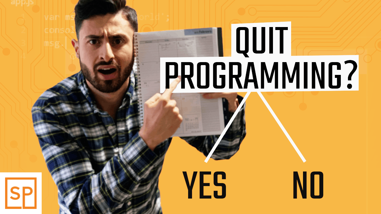 Should You Quit Programming?
